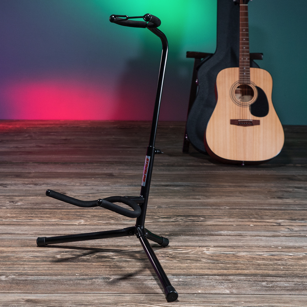 Stageline GS100B Universal Cradle Guitar Stand